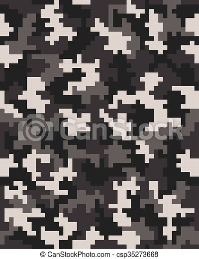 seamless pattern of digital camouflage vector rh canstockphoto com digital camo vector free download digital camo vector pattern