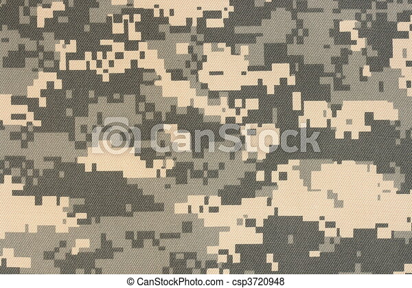 digital camouflage  - csp3720948