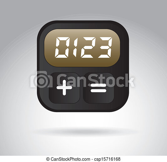 digital clock - csp15716168