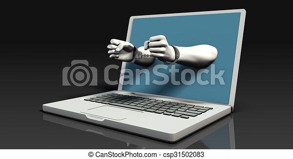 Digital Crime - csp31502083