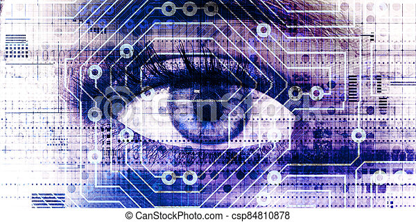 Digital Eye - csp84810878