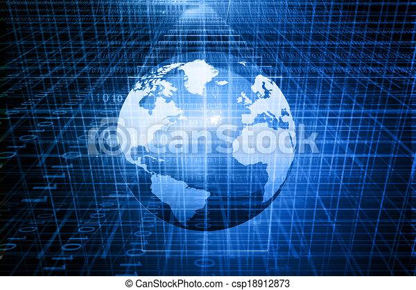 Digital Globe - csp18912873