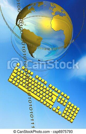 digital globe - csp6975793