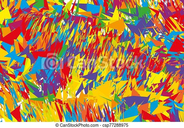 Digital graffiti. Grunge urban style. - csp77288975