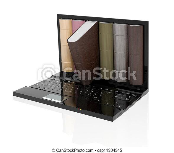 Digital library  - csp11304345