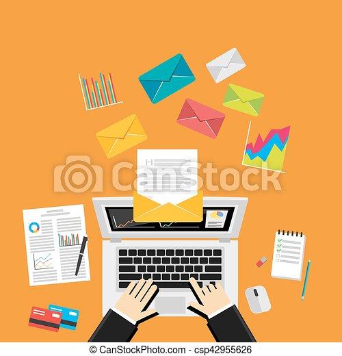 digital marketing emailsend business mail send message