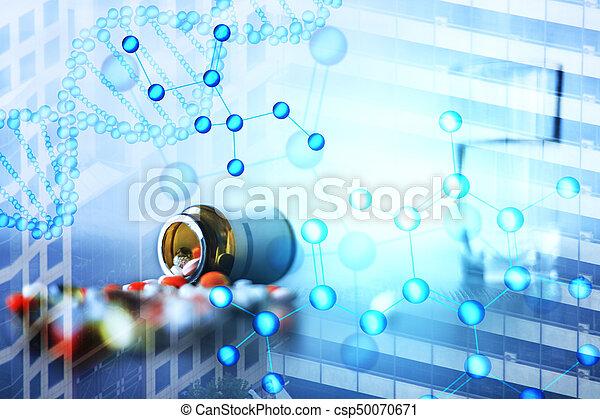 Digital medical backdrop - csp50070671