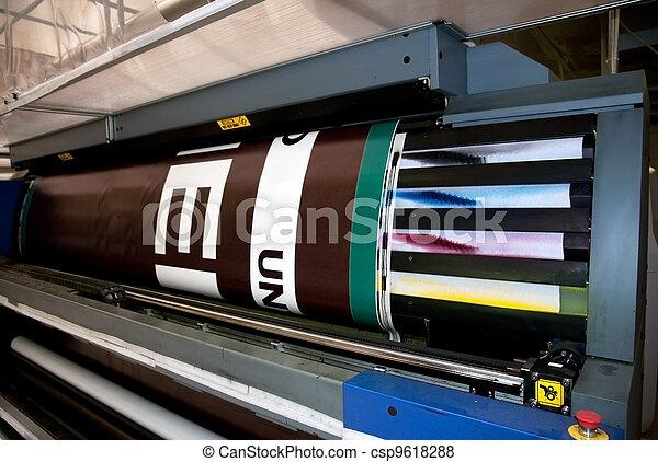 Digital printing - wide format printer - csp9618288