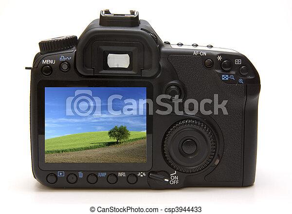 Digital professional camera - csp3944433