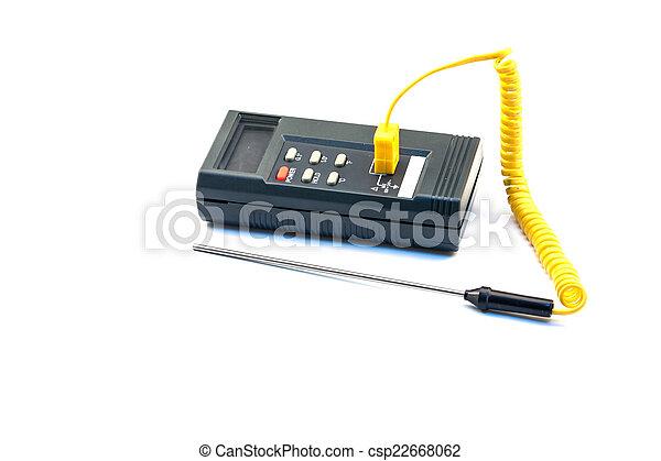 Digital Thermometer - csp22668062