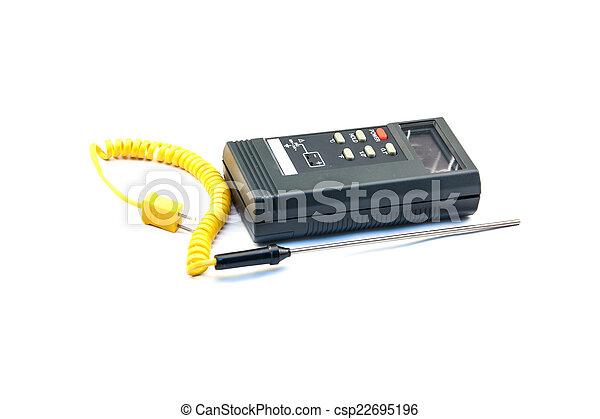 Digital Thermometer - csp22695196