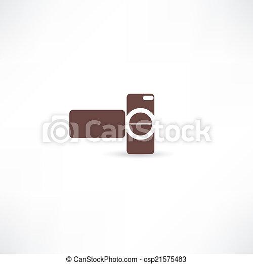 digital video camera - csp21575483