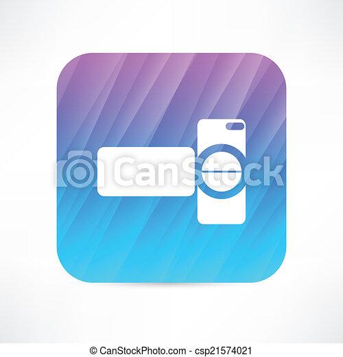 digital video camera - csp21574021