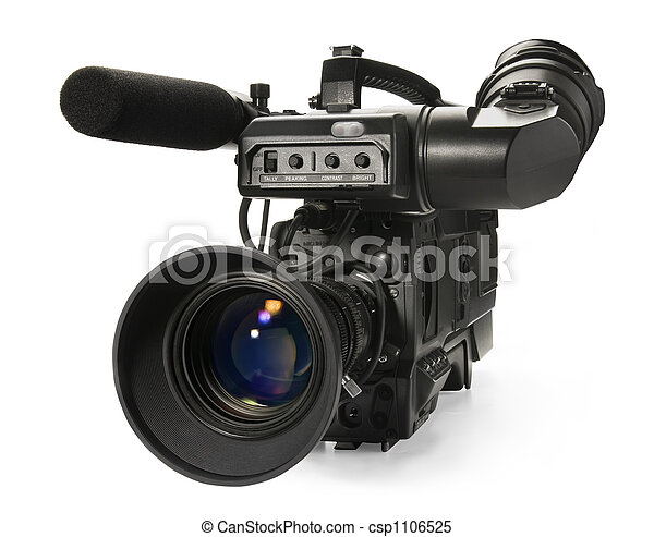digital video camera - csp1106525
