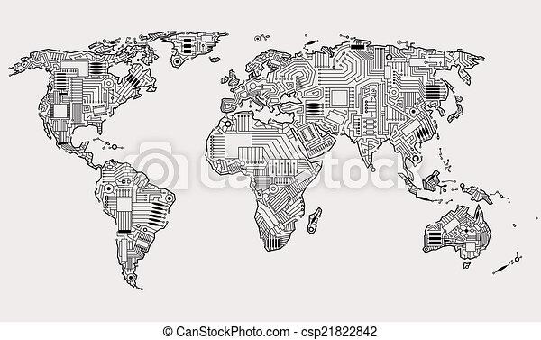 digital world - csp21822842