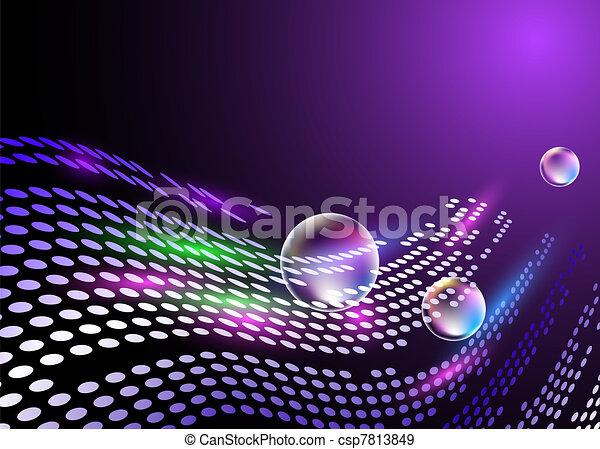 digitaler hintergrund - csp7813849