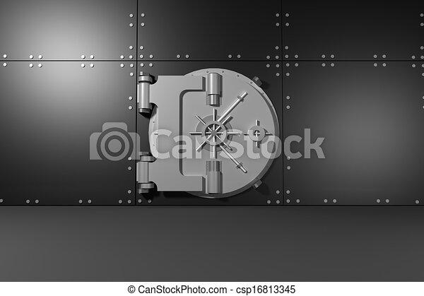 Digitally generated safe - csp16813345
