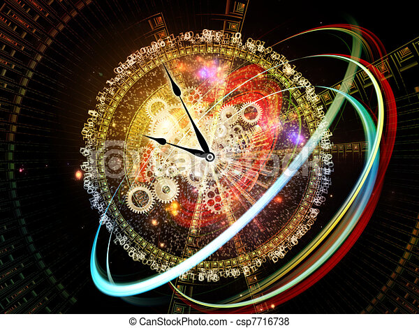 Digits of Time - csp7716738