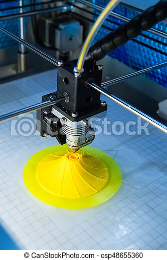 dimensionnel, printer., impression, trois, machine - csp48655360