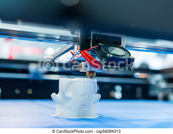 dimensionnel, printer., impression, trois, machine - csp56084313