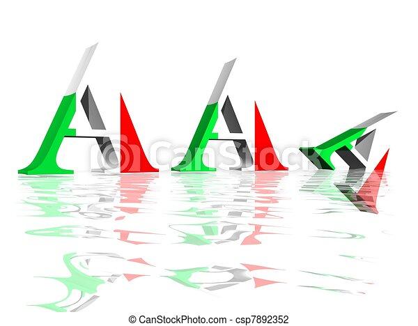diminution, avaliação, aaa, italiano - csp7892352