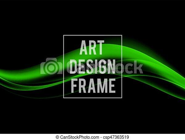Una plantilla de diseño dinámico abstracto - csp47363519