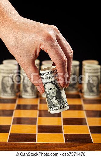 El concepto de estrategia monetaria - csp7571470