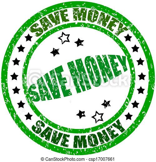 Ahorra dinero - csp17007661