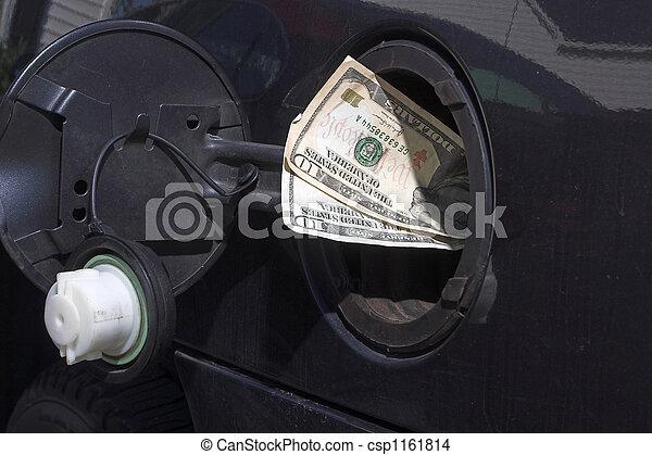dinero, gas - csp1161814