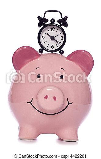 El tiempo es dinero - csp14422201