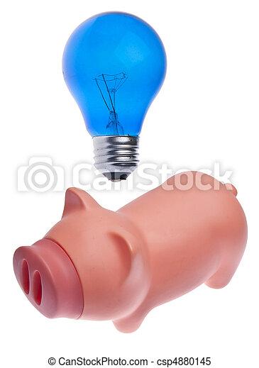 Ideas sobre dinero - csp4880145