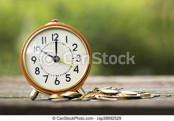 El tiempo es dinero - csp38892529