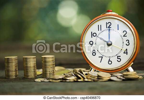 El tiempo es dinero - csp40496870