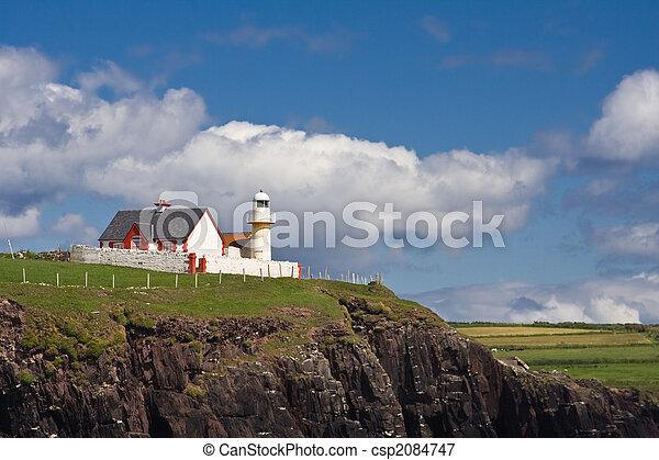 Dingle lighthouse - csp2084747