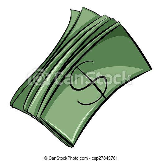 dinheiro, jogo, contas - csp27843761