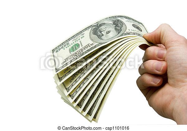 dinheiro, mãos - csp1101016