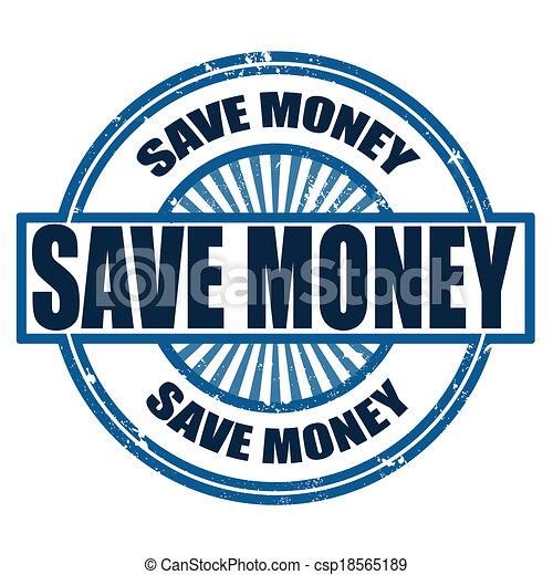 dinheiro, salvar - csp18565189