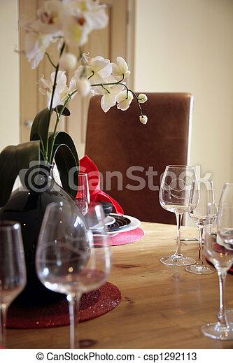 Dining in Luxury - csp1292113