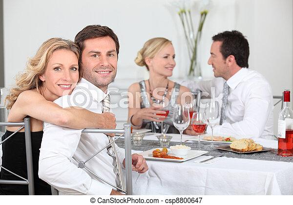 Dinner party - csp8800647