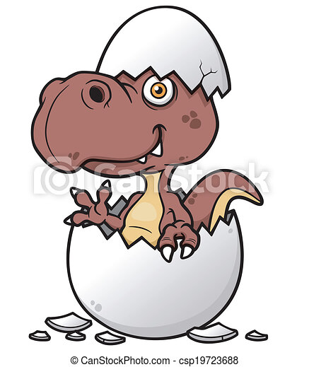 Dinosaur baby - csp19723688