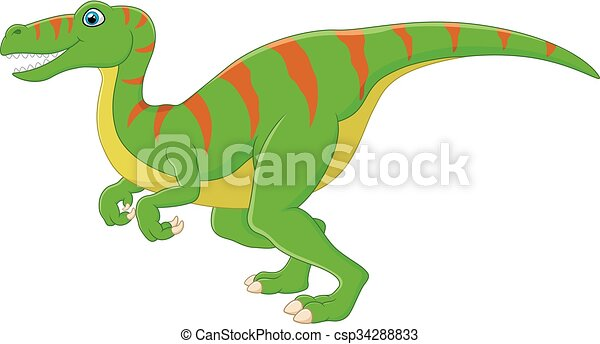 Dinosaur cartoon - csp34288833