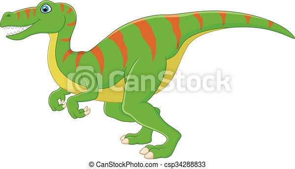 Dinosaur cartoon - csp34288833