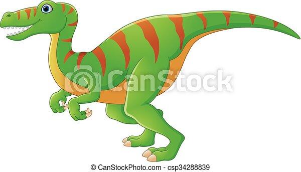 Dinosaur cartoon - csp34288839