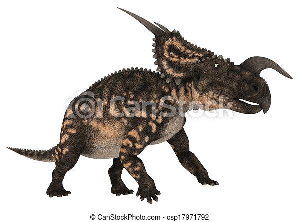 Dinosaur Einiosaurus - csp17971792