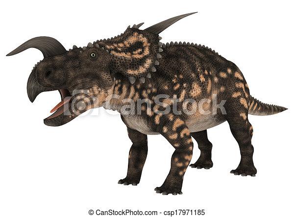 Dinosaur Einiosaurus - csp17971185
