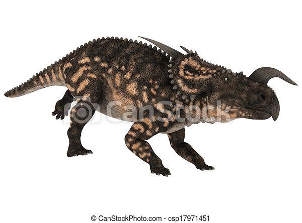 Dinosaur Einiosaurus - csp17971451