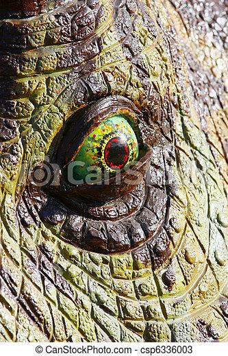 Dinosaur eye - csp6336003