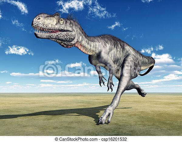 Dinosaur Megalosaurus - csp16201532