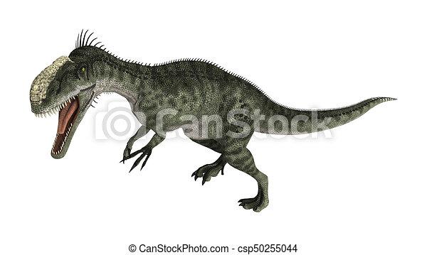 Dinosaur Monolophosaurus - csp50255044