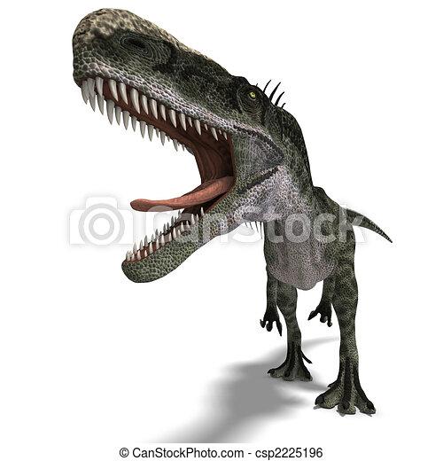 Dinosaur Monolophosaurus - csp2225196